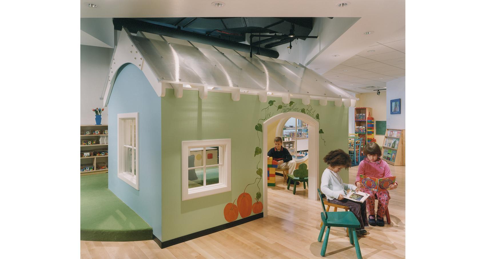 Spruce Street Nursery School | Bargmann Hendrie + Archetype ...